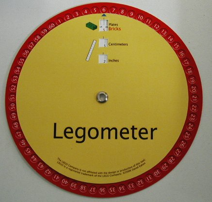 Legometer : disque de conversion {JPEG}