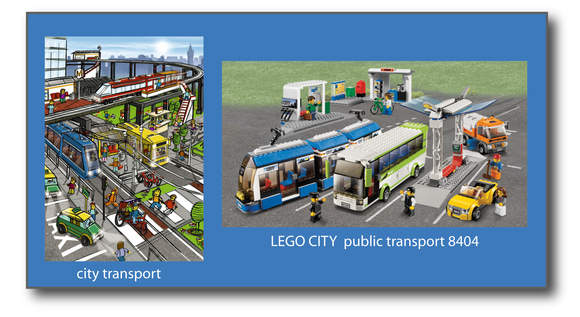 Le CITY PUBLIC TRANSPORT 8404